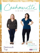 Dartmouth Top - Cashmerette Sewing Pattern